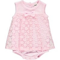 Civil Baby Kız Bebek Elbise 6-18 Ay Pembe