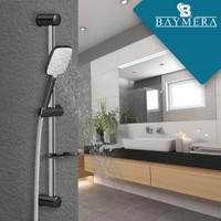 Baymera Harmony Black Sürgülü Duş Seti VLTM-6160