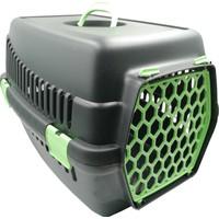 Şenyayla Plastik Kedi Evcil Hayvan Siyah Yeşil Renk Taşıma Çantası