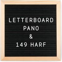Petrix PD84423 Harfli Ahşap Yazı Panosu Letter Board