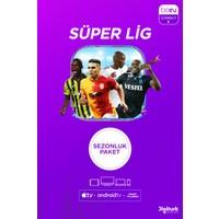 BeIN Connect Sezonluk Süper Lig Paketi 4 Ekran (Web + Cep + Tablet + Smart Tv + Apple Tv)