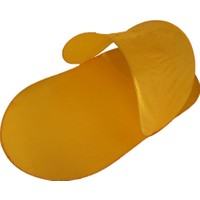 Plajmatik Pratik Katlanabilir Şezlong Çantalı Sarı