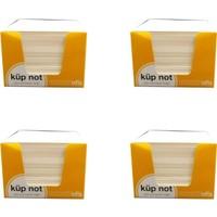 Umur Küp Bloknot Göz Yormayan Kağıt 8 x 8 x 6 cm 4'lü