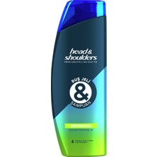 Head&Shoulders Head & Shoulders Duş Jeli ve Şampuan Refreshing 360 ml