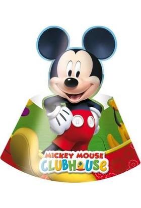 Procos Mickey Playful Parti Şapkası 6 Adet