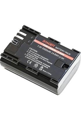 Sanger Canon LP-E6N Batarya 2li Paket