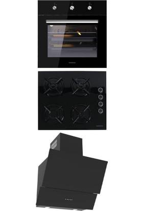 Termikel Ankastre Set (Bo O6433 B + Bh P6144 B Ng + Tigris BB60)