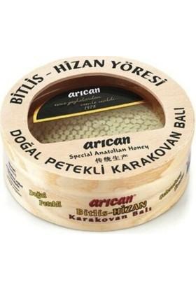 Arıcan Bitlis Hizan Yöresi Doğal Petekli Karakovan Balı 600 gr