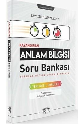 Rota Yayınları Kazandıran Anlam Bilgisi Soru Bankası