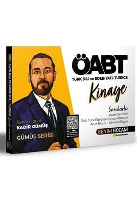 Benim Hocam Yayınları 2021 Öabt Türk Dili ve Edebiyatı - Türkçe Kinaye Soru Bankası - Kadir Gümüş