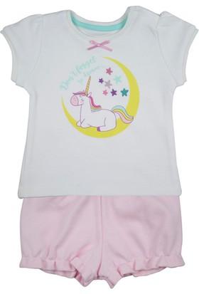 Baby Corner Kız Bebek Şort Tişört 2'li Takım