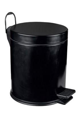 MaxiFlow 5 Lt. Standart Çöp Kovası Boyalı Siyah Maxiflow