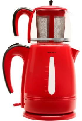Sunny Harmoni Çay Makinesi Kırmızı