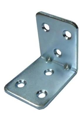 Nobel Metal Gönye Köşe Birleştirme Demiri 35*35*26 L Demir 20 Adet
