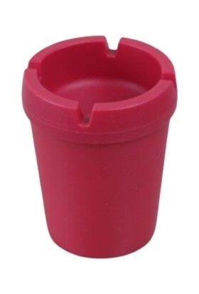 Asımoğlu Kokusuz Pembe Araba Küllük Plastik Kül Tablası