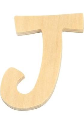 hobi24 Ahşap Harf 6 cm - J