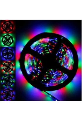 Lumenn Şerit Peri Led-5 Metre Kumandalı-Değişebilen 16 Renk