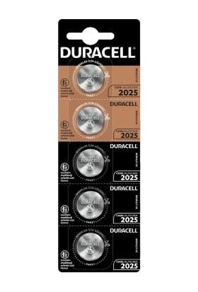 Duracell Druacell Cr 2025 Kartela Pil 5'li
