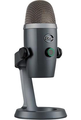 Blue Yeti Nano Gri Profesyonel USB Mikrofon