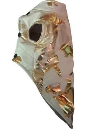 Petquatro Orta Irklar Için Gold Desenli Mont-6 Beden