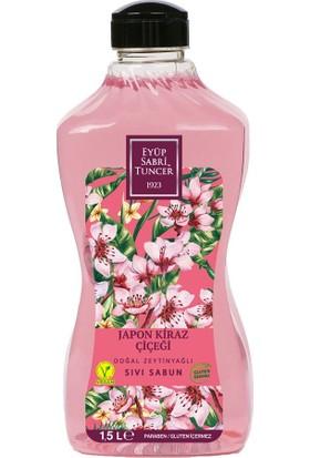 Eyüp Sabri Tuncer Japon Kiraz Çiçeği Doğal Zeytinyağlı Sıvı Sabun 1.5 Lt