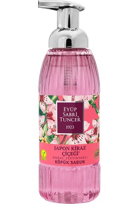 Eyüp Sabri Tuncer Japon Kiraz Çiçeği Doğal Zeytinyağlı Köpük Sabun 500 ml