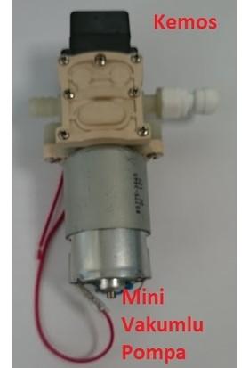 Kemos Mini Vakumlu Sıvı Transfer Pompası 12 Vdc