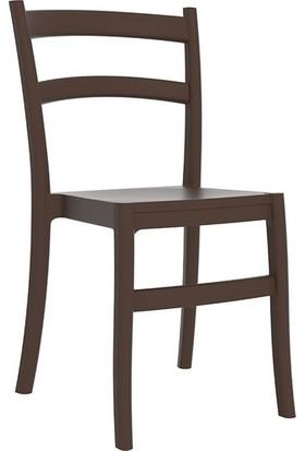 Sıesta Contract Tiffany Sandalye Kahverengi 6 Lı