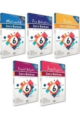 Rty Rota Yayınları 6. Sınıf Soru Bankası Seti 5 Kitap