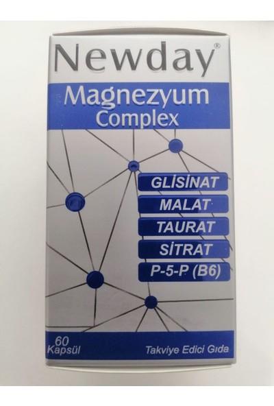 Newday Magnezyum Complex 60 Kapsül 8681227011646
