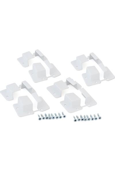 Sineklik Sabitleyici Pabucu 17X25 4'lü Paket - Beyaz