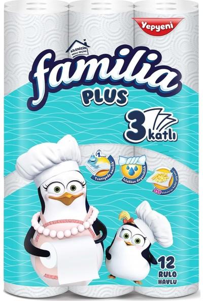 Familia Kağıt Havlu Plus 24 Lü Pk (3 Katlı) (2pk*12)