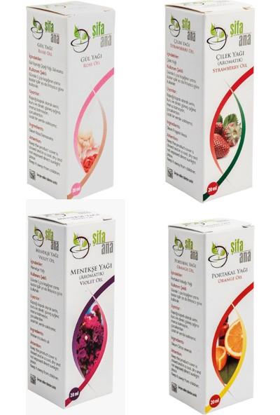 Şifa Ana Kendini Şımart Aromatik Yağ Seti 4 Lü