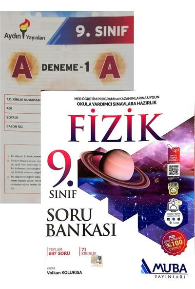 Muba Yayınları 9. Sınıf Fizik Soru Bankası Yeni (Aydın Denemeli)