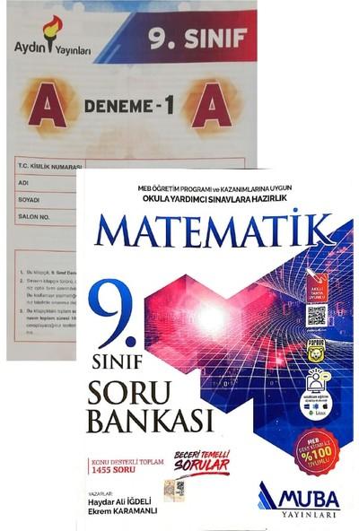 Muba Yayınları 9. Sınıf Matematik Soru Bankası Yeni (Aydın Denemeli)