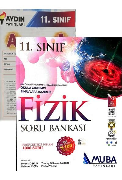 Muba Yayınları 11. Sınıf Fizik Soru Bankası Yeni (Aydın Denemeli)