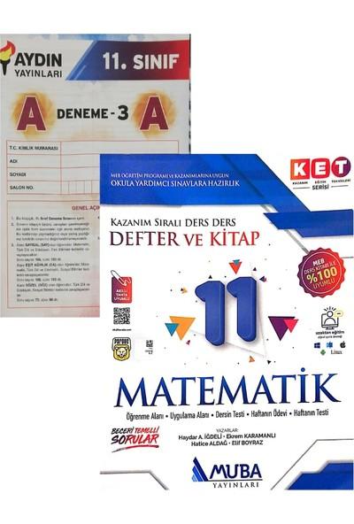 Muba Yayınları 11. Sınıf K.e.t Serisi Matematik Konu Anlatımlı Soru Bankası Yeni (Aydın Denemeli)