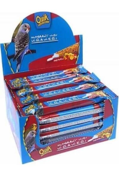 Quik Meyveli Muhabbet Kuş Krakeri 36'lı Paket
