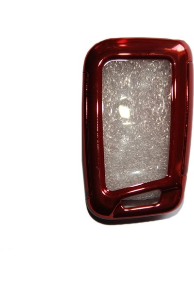 Snt Volkswagen Golf 7 Plastik Anahtarlık - Sustasız Kırmızı