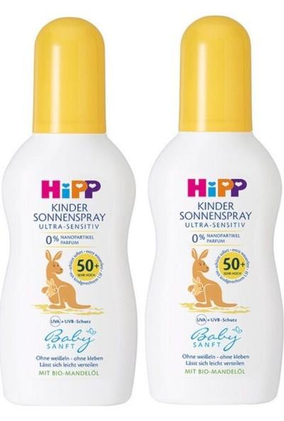 Hipp Babysanft Sprey Güneş Kremi 50 Faktör 150 ml x 2 Adet