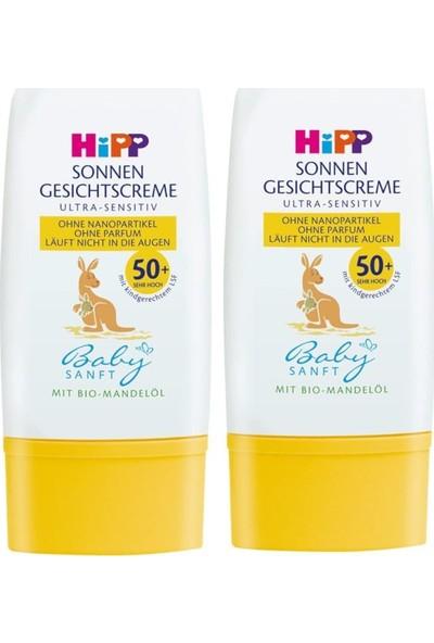 Hipp Babysanft Yüz Için Güneş Kremi 30 ml x 2 Adet
