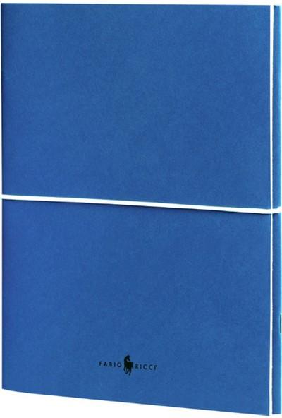 Fabio Ricci Z Notes Düz - Düz Ikili Defter 19 x 24 cm Mavi
