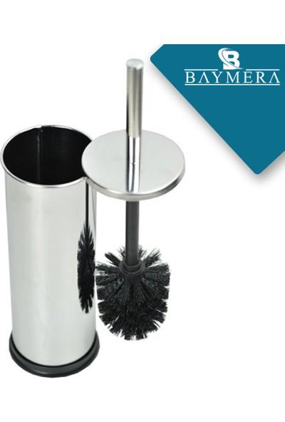 Baymera Paslanmaz Banyo Seti Çöp Kovası + Sabunluk