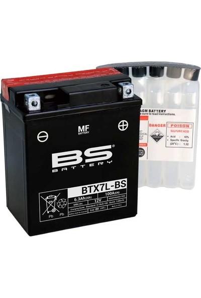 BS Aprilia Rs4 125 Bs Akü BTX7L-BS Mf 2014-2020