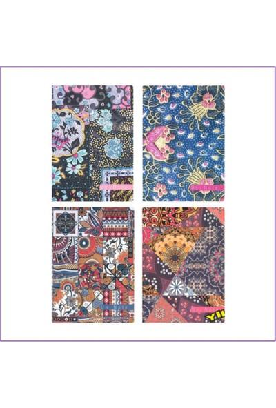Keskin Color 58 Yaprak Noktalı Defter 25 x 19 cm