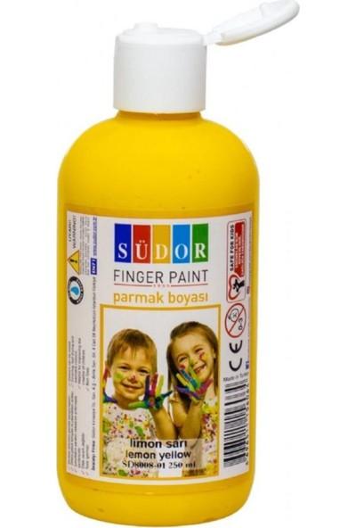 Südor Parmak Boya - Limon Sarı Parmak BOYASI250 ml