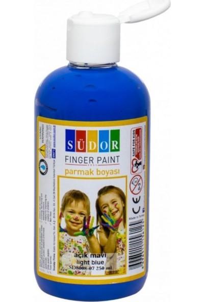 Südor Parmak Boyası - Açık Mavi 250 ml