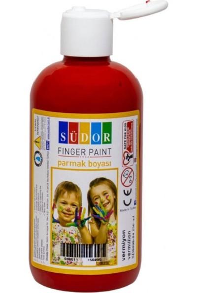 Südor 250 ml Parmak Boya - Vermiyon Kırmızı Parmak Boyası