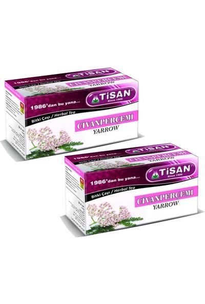 Tisan Civanperçemi Bitki Çayı 20 Süzen Poşet x 2