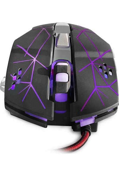 MF Product Strike 0610 Rgb Kablolu Gaming Mouse Siyah